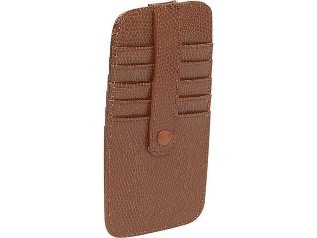 Budd Leather Flat 10 Credit Card Stacker