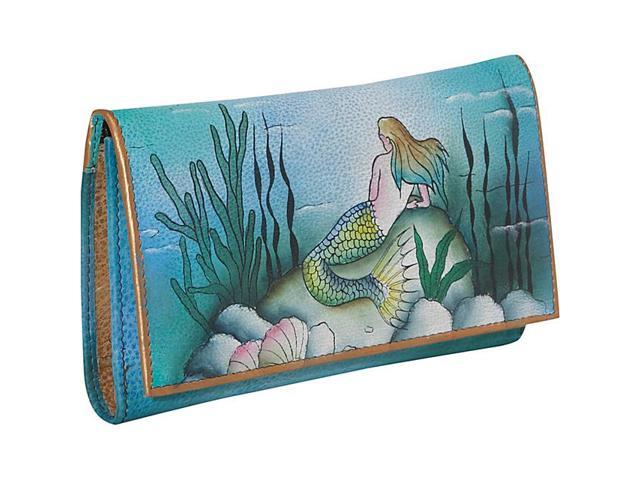 Anuschka Checkbook Wallet - Little Mermaid