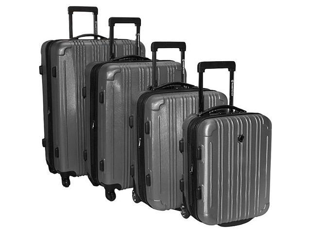Traveler's Choice New Luxembourg 4 Piece Exp. Hardside Luggage Set