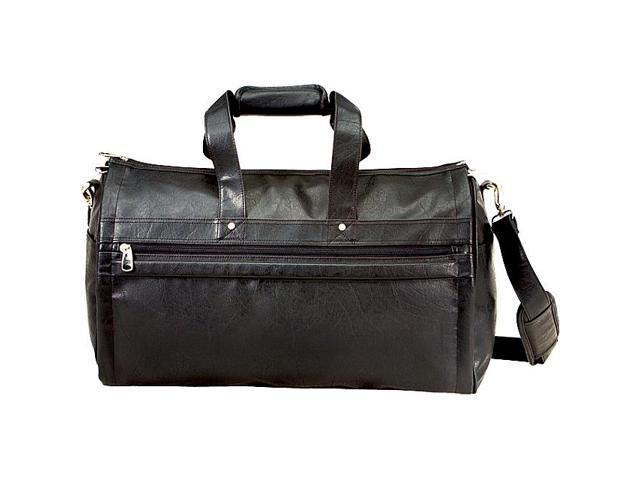 U.S. Traveler Koskin Leather 2-in-1 Carry-On Garment Duffel Bag