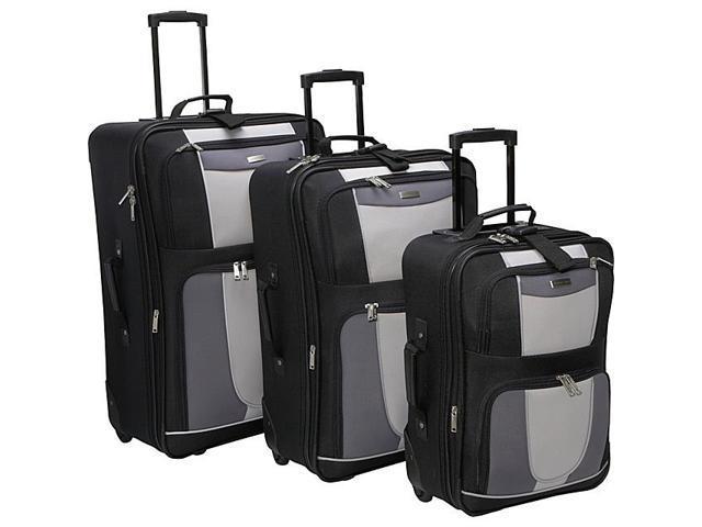 Geoffrey Beene Luggage 3 Piece Carnegie Luggage Set