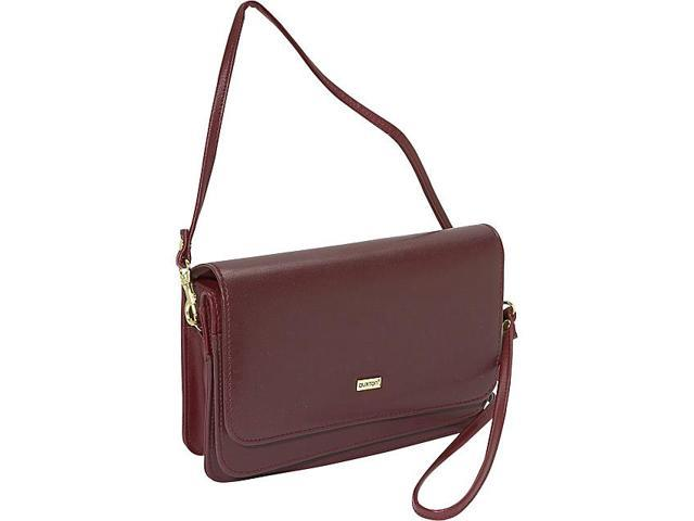 Buxton Double-Flap Mini-Bag with Total Wallet Organization