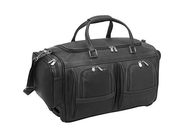 Piel Duffel 22in. With Pockets on Wheels