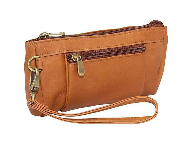 Le Donne Leather Large Wristlet Wallet