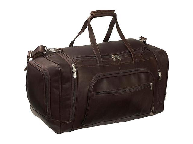 Piel Multi-Compartment Duffle Bag