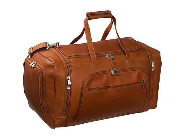 Piel Multi-Compartment Duffle Bag