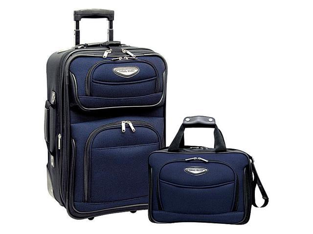 Traveler's Choice Amsterdam 2pc Carry-On Luggage Set