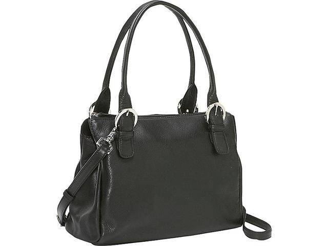 Derek Alexander Square Top Zip Handbag
