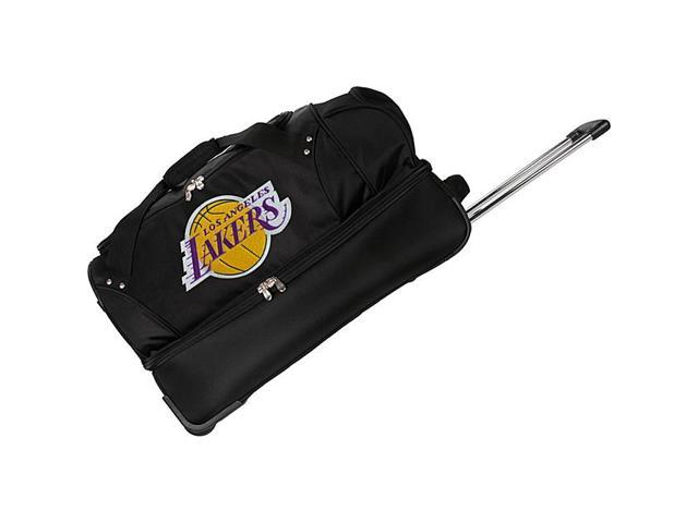 Denco Sports Luggage NBA Los Angeles Lakers 27in. Rolling Duffel