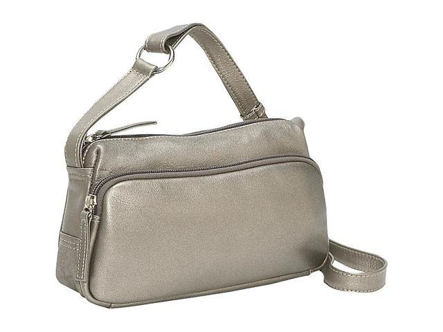 Derek Alexander Small Twin Top Zip Handbag