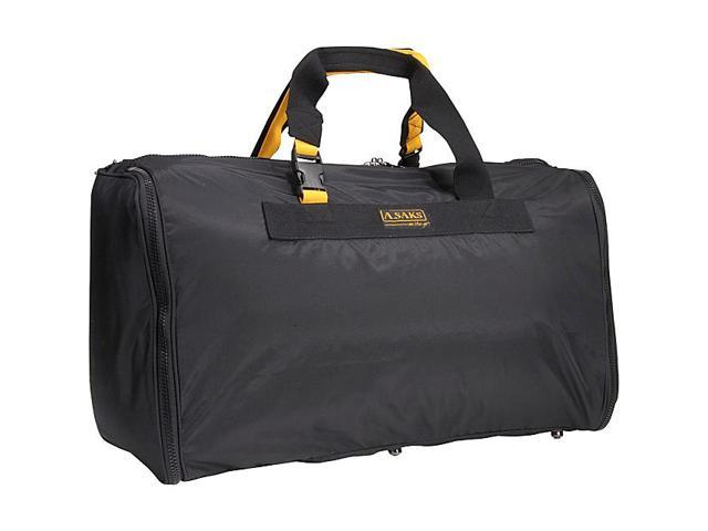 A. Saks EXPANDABLE 24in. Triangle Expandable Duffel