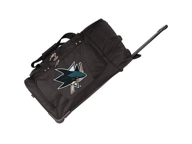 Denco Sports Luggage NHL San Jose Sharks 27in. Rolling Duffel