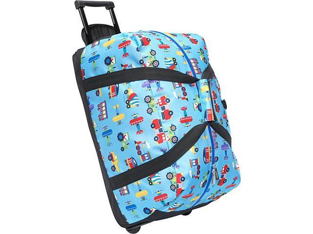 Wildkin Olive Kids Trains, Planes & Truck Good Times Rolling Duffel Bag