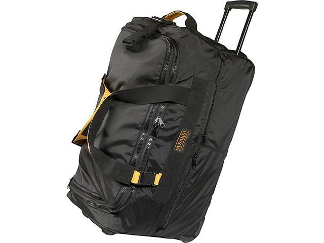 A. Saks 25in. Expandable Rolling Trolley Duffel