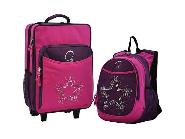 Obersee O3 Kids Star Luggage and Backpack Set With Integrated Cooler
