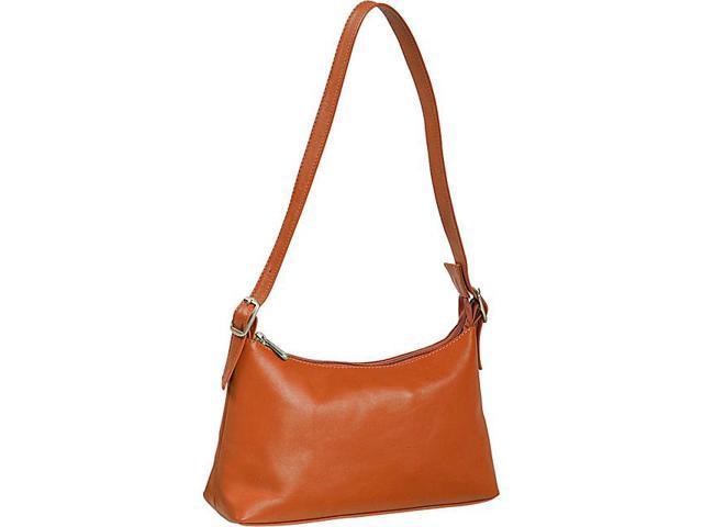 Piel Top Zip Mini Shoulder Bag