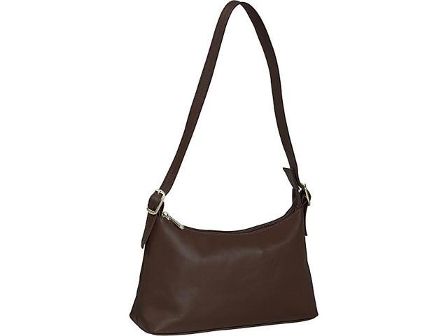 Piel Top Zip Mini Shoulder Bag