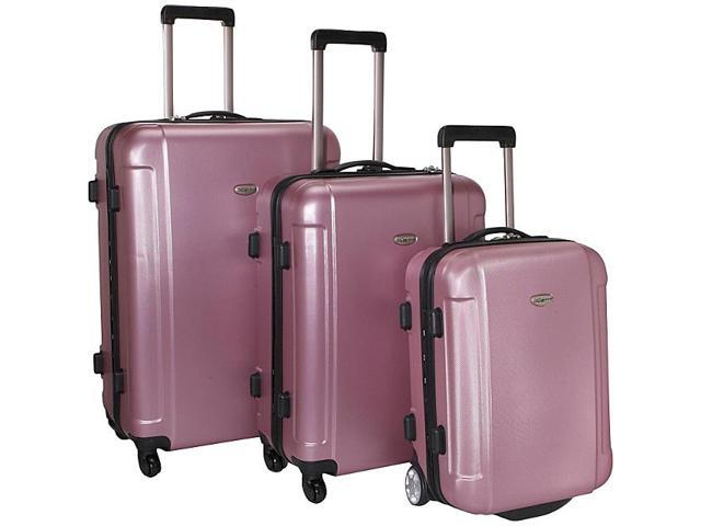 Traveler's Choice Freedom II - 3-Piece Hardside Spinner/Rolling Luggage Set