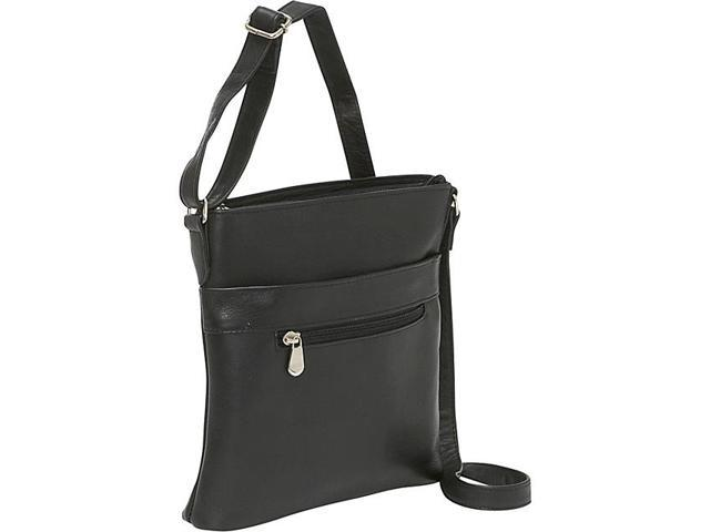 Le Donne Leather Triple Zip Crossbody