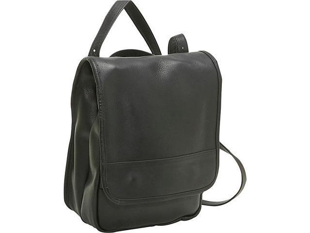 Le Donne Leather Convertible Back Pack Shoulder Bag