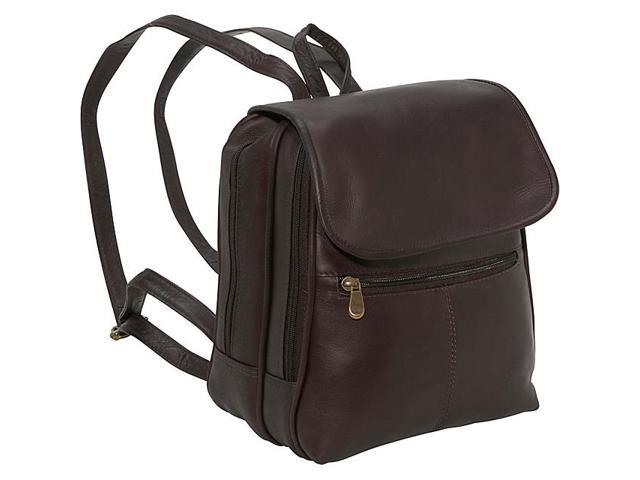 Le Donne Leather Everything Womans Backpack/Purse