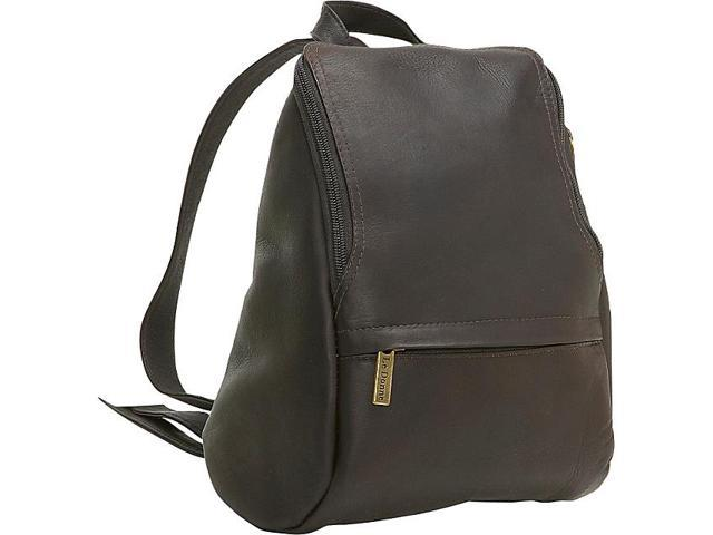 Le Donne Leather U-Zip Mini Back Pack