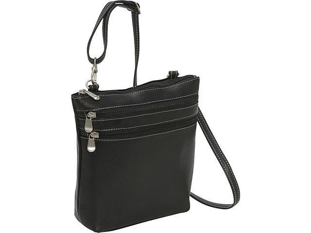 Le Donne Leather Cross Body Zip Bag