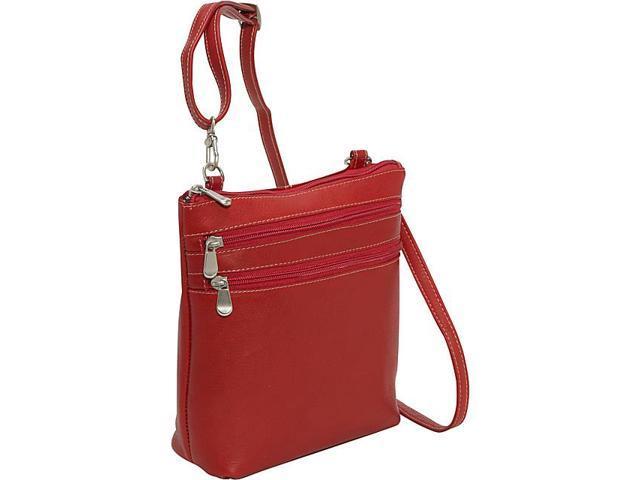 Le Donne Leather Cross Body Zip Bag