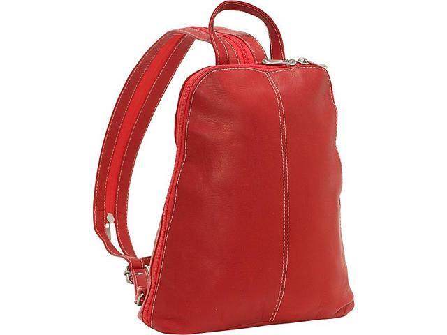 Le Donne Leather U-Zip Women's Sling/Back Pack