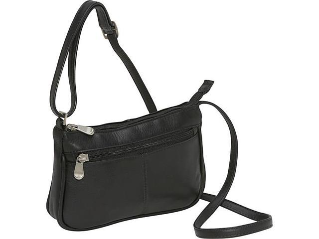 Le Donne Leather Top Zip Mini Cross Body