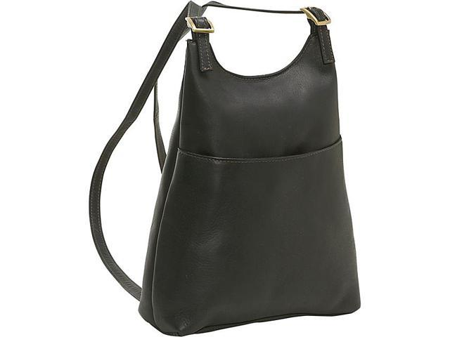 Le Donne Leather Women's Sling BackPack Purse