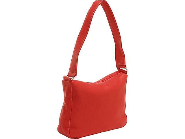 Le Donne Leather Top Zip Shoulder Bag
