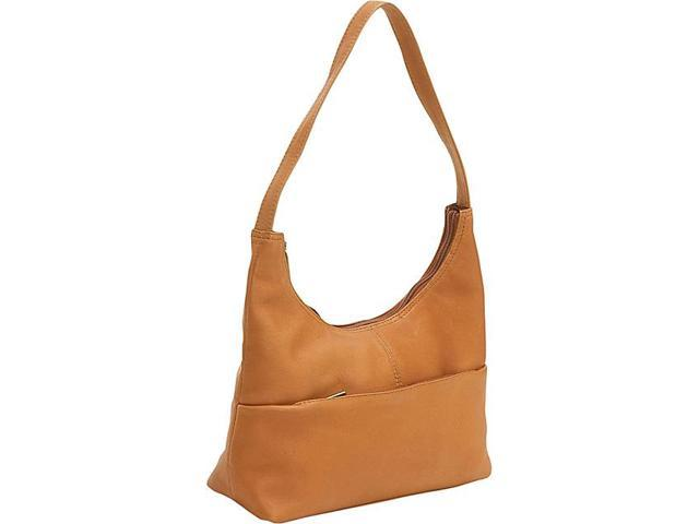 Le Donne Leather Top Zip Hobo
