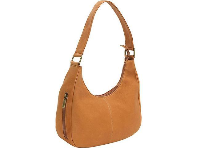 Le Donne Leather Single Handle Side Zip Hobo