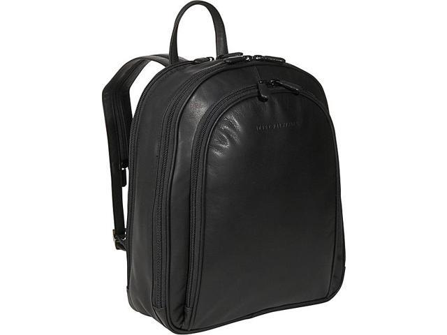 Derek Alexander Three Zipper Organizer Backpack