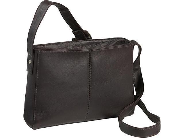 Le Donne Leather Top Zip Crossbody Bag