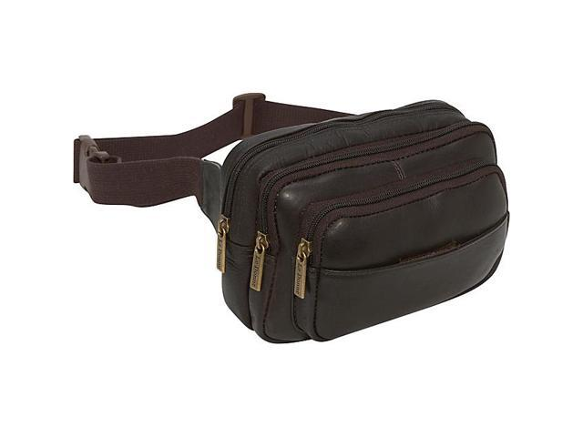 Le Donne Leather Four Compartment Waist Bag