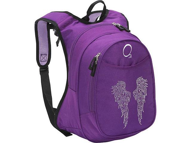 Obersee O3 Kids Pre-School Angel Wings Backpack with Integrated Lunch Cooler
