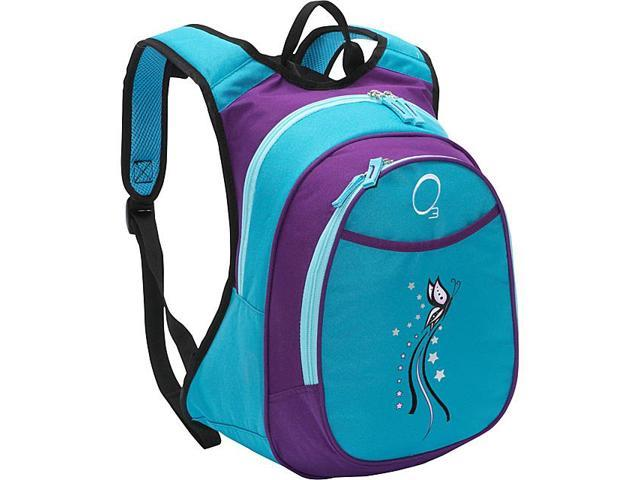 Obersee O3 Kids Pre-School Butterfly Backpack with Integrated Lunch Cooler