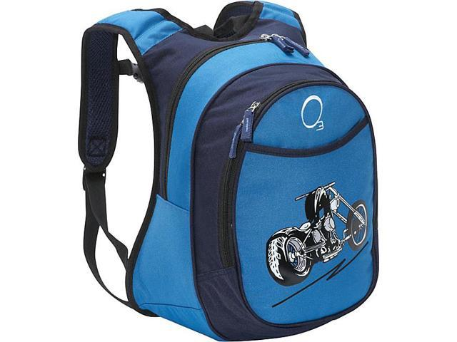 Obersee O3 Kids Pre-School Motorcycle Backpack with Integrated Lunch Cooler