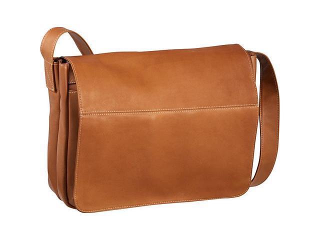 Le Donne Leather Full Flap Computer Messenger