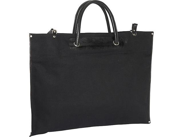 Clava Canvas / Leather Roll-Up Tote