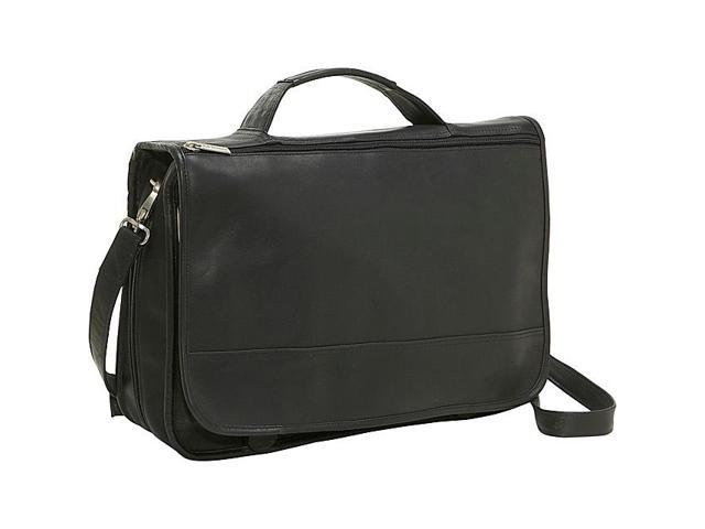 Le Donne Leather Expandable Messenger