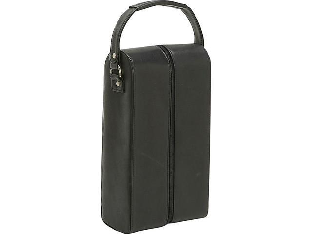 Le Donne Leather Two Bottle Wine Tote