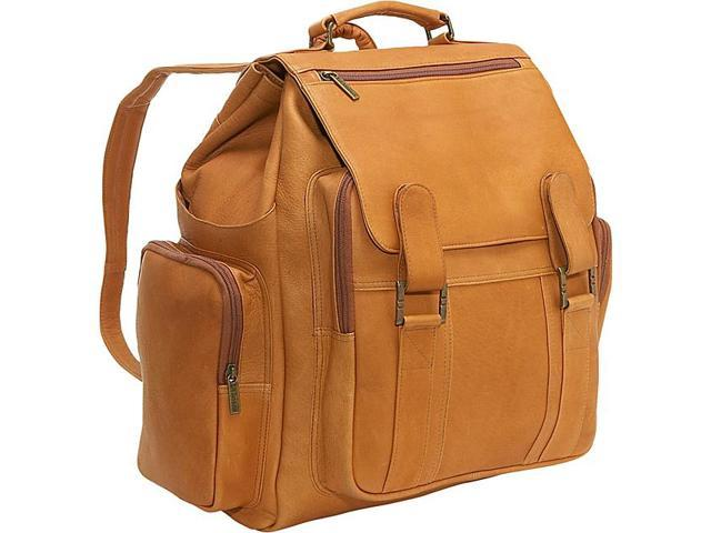Le Donne Leather Large Traveler Back Pack