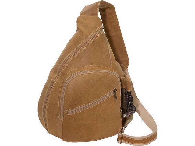 David King & Co. Distressed Leather Cross Body Bag