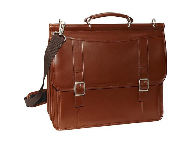 Samsonite Leather Flapover Business Case