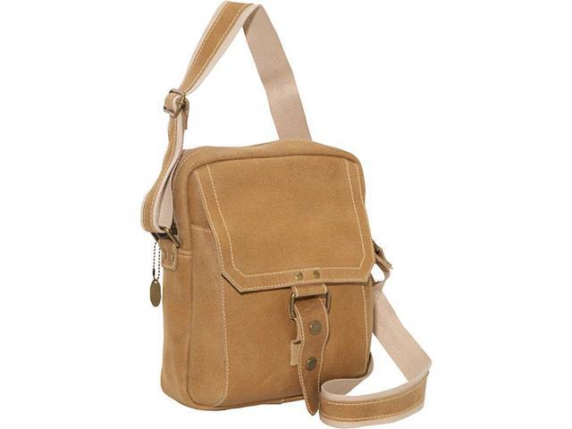 David King & Co. Distressed Leather Day Bag