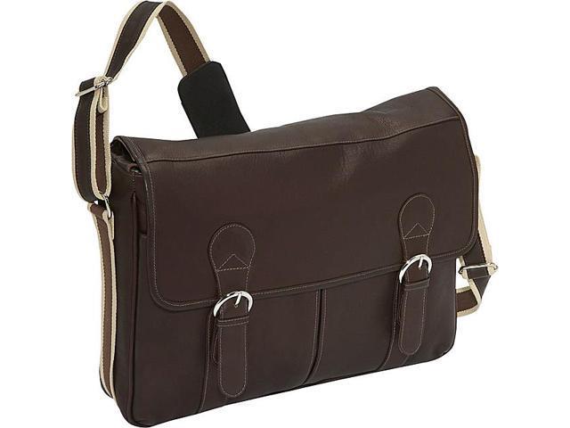 Piel Classic Expandable Laptop Messenger Bag