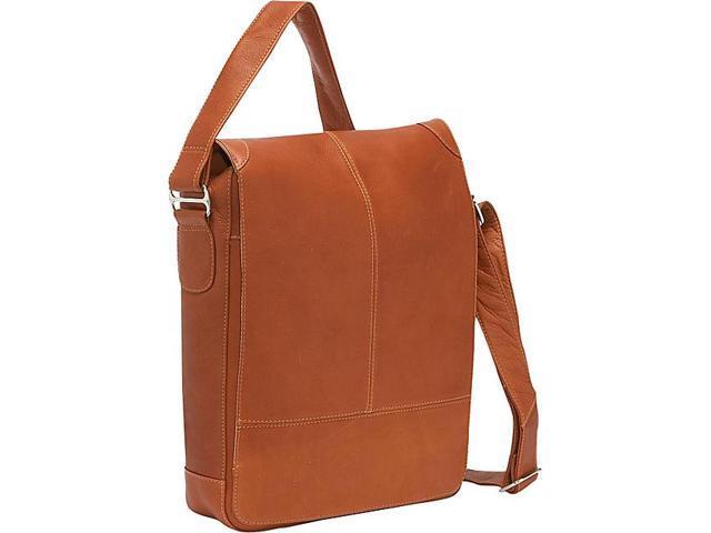 Piel Urban Vertical Laptop Messenger Bag